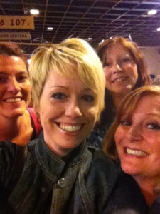 Me with some of my favorite women!